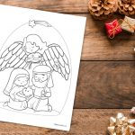 'God's Protection' Christmas Printable