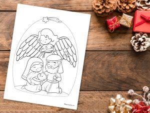 'God's Protection' Christmas Printable