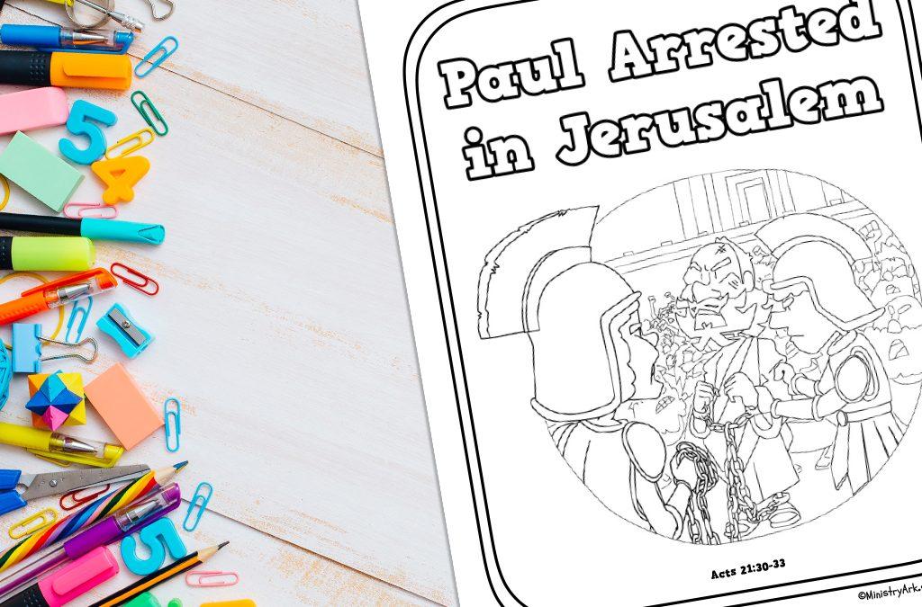 Paul Arrested in Jerusalem