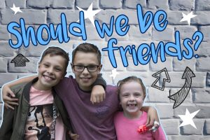 'Should We Be Friends?' Powerpoint image