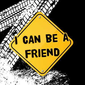 'I Can Be a Friend' social media image