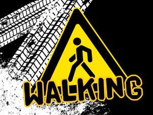'Walking' PowerPoint image