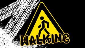 'Walking' widescreen image