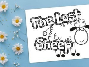 'The Lost Sheep' Printable