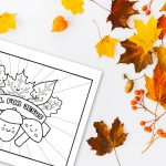 'Fall For Jesus' Christian Autumn Printable