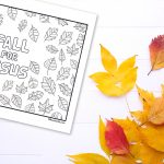 'Fall for Jesus' Printable