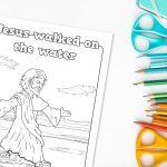 'Jesus Walked on Water' Printable