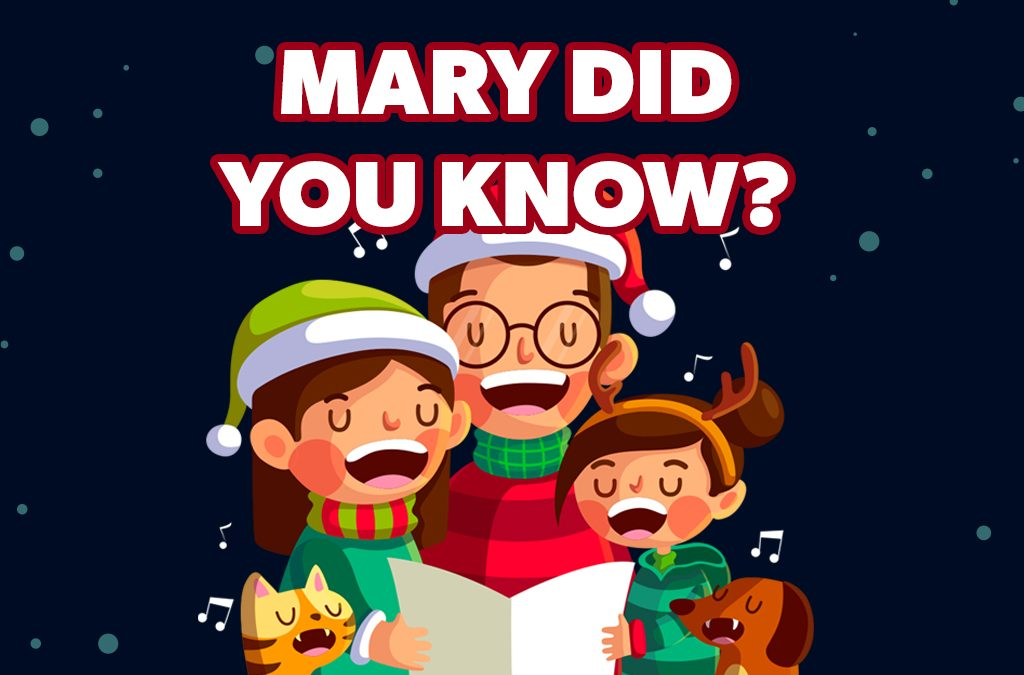 'Mary Did You Know?' Childrens Lesson