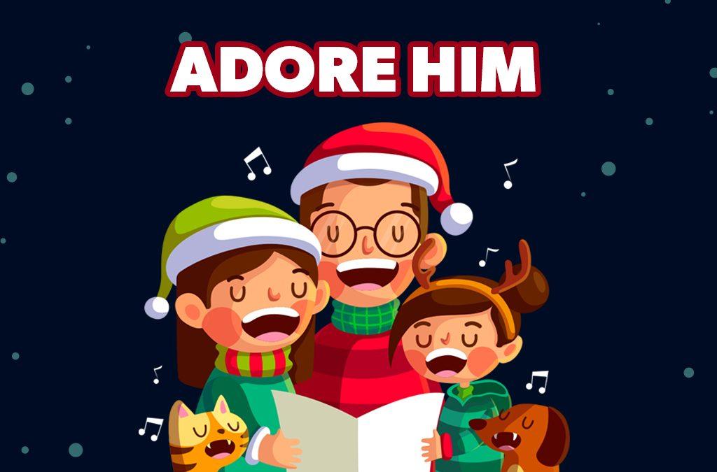 'Adore Him' Childrens Lesson