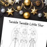 'Twinkle Twinkle' Christmas Printable