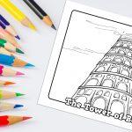 'Tower of Babel' Bible Story Printable
