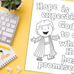 'Hope is Expecting' Printable