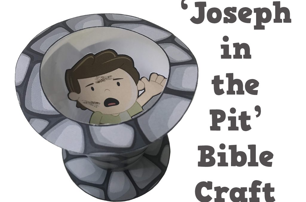 'Joseph in the Pit' Bible Craft