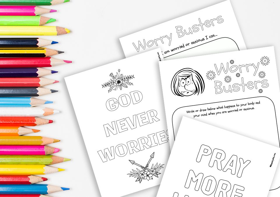 'Worry Busters' Printable Activity Booklet