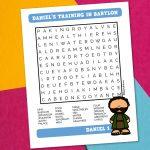 Daniels Training Wordsearch