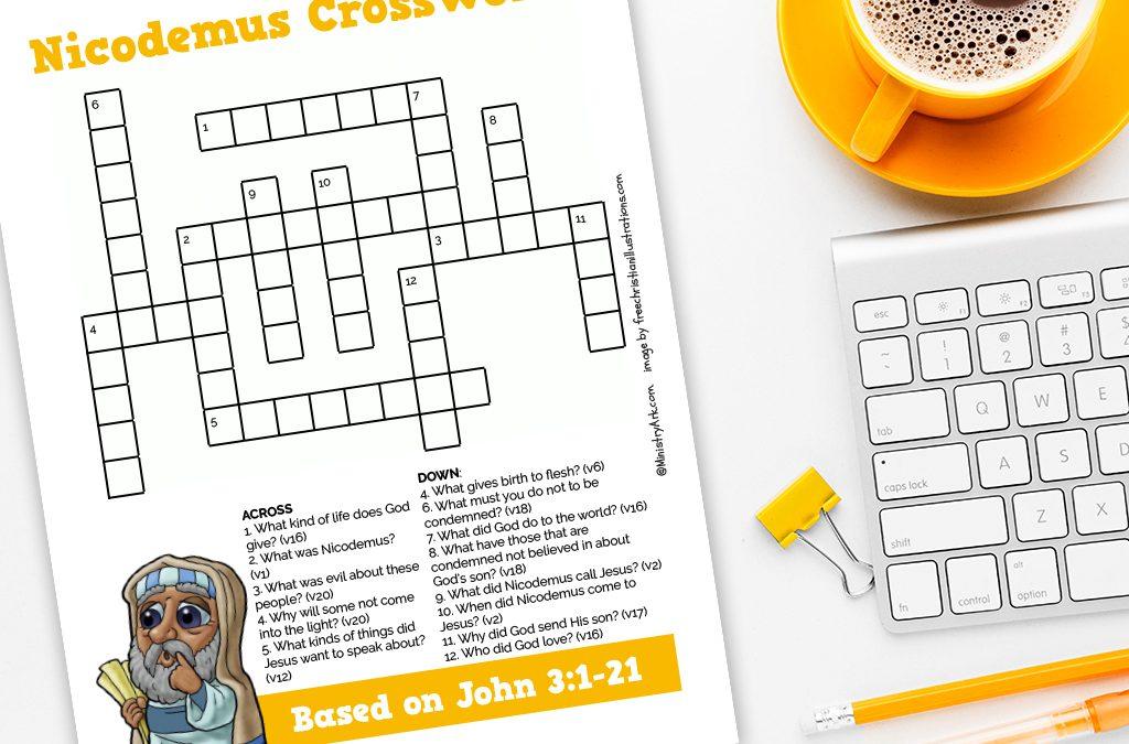 Nicodemus Crossword
