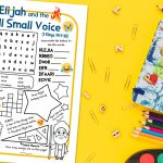 'Elijah and the Still Small Voice' Puzzle Sheet